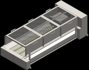 Kartoffelsortiermaschine - SRL