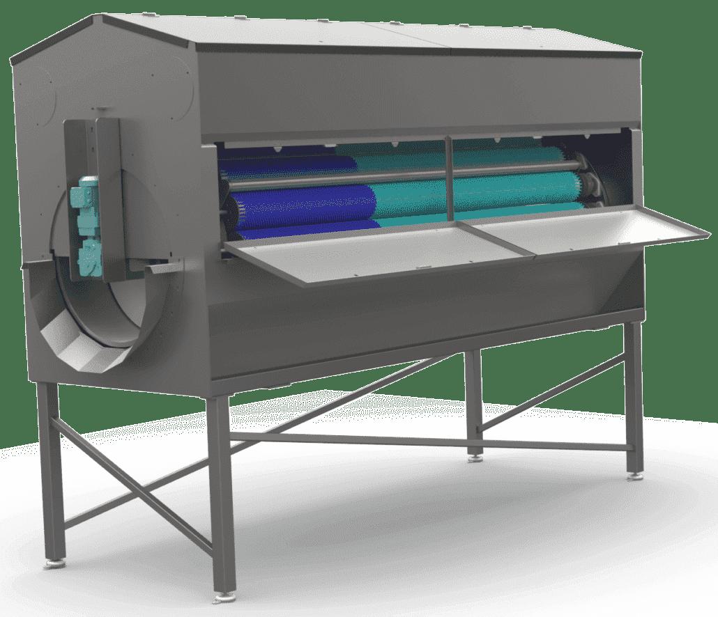 Borstelmachine aardappelen - NBR