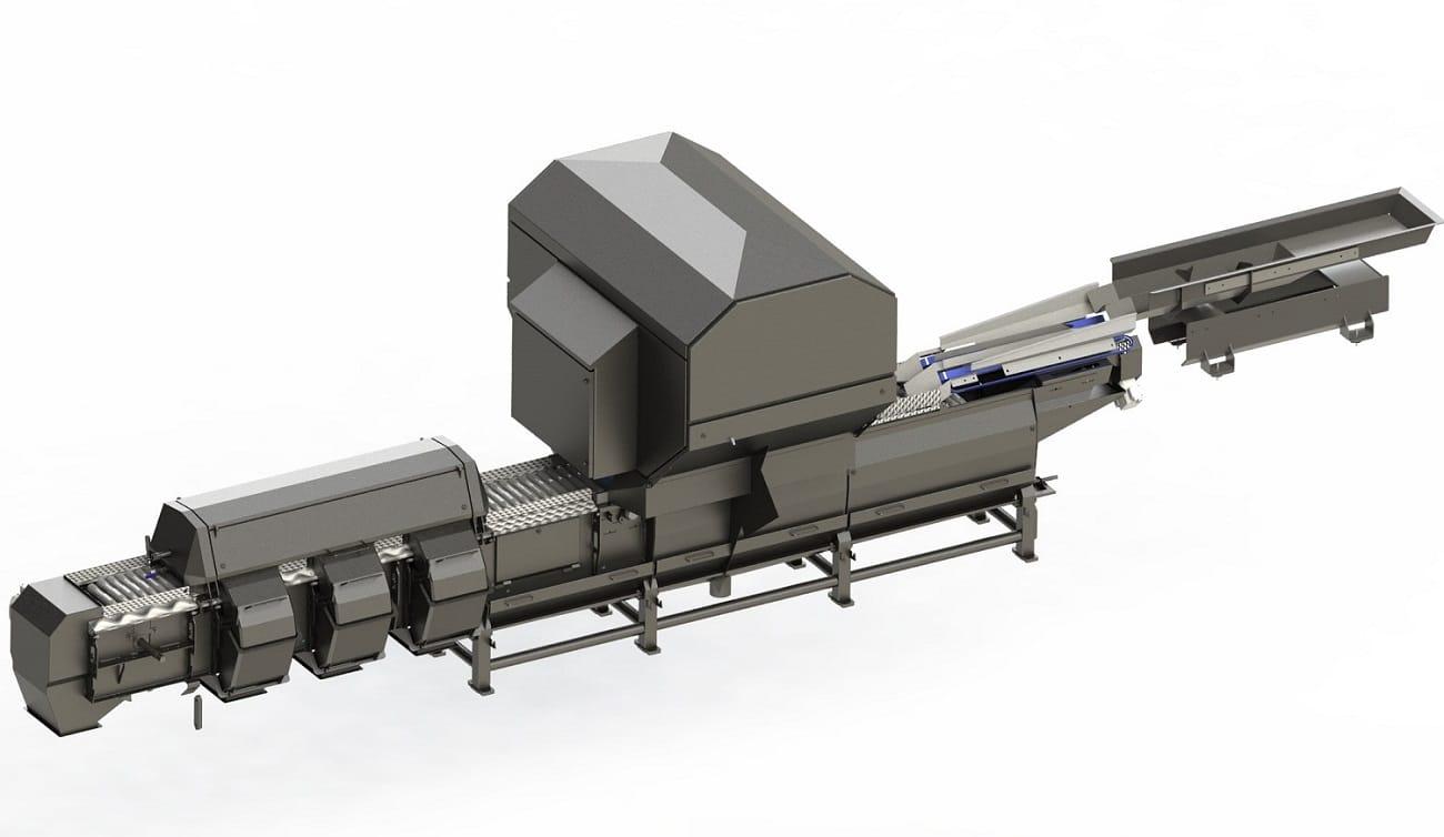 Optischer Sortierer SOM, Eine Kartoffelsortiermaschine