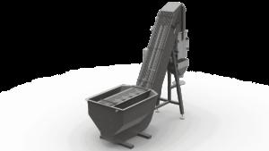Elektronische Waage mit Nassbunker - AEBNT