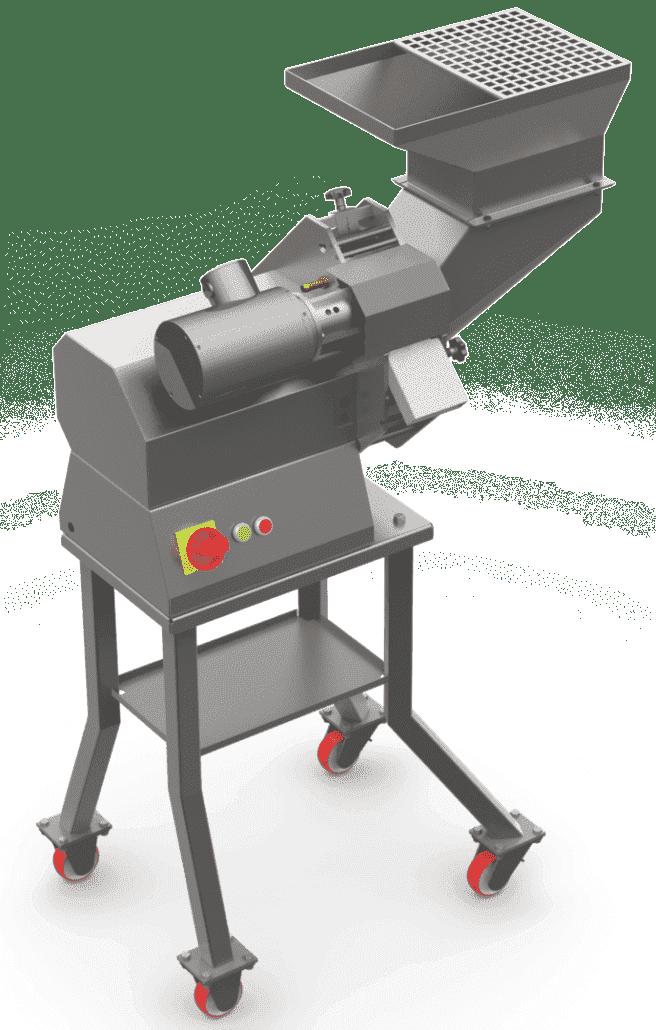 Slitmaster, an industrial potato cutter