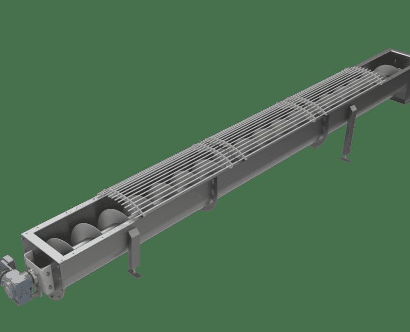 Drehschraubeförderband – TS
