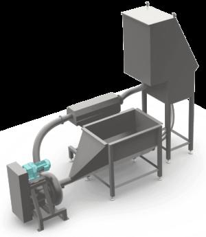 Waste Press Auger WS Marcelissen