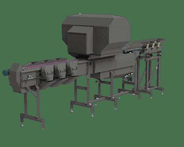 Optische Sorteerder SOM-2 van Marcelissen