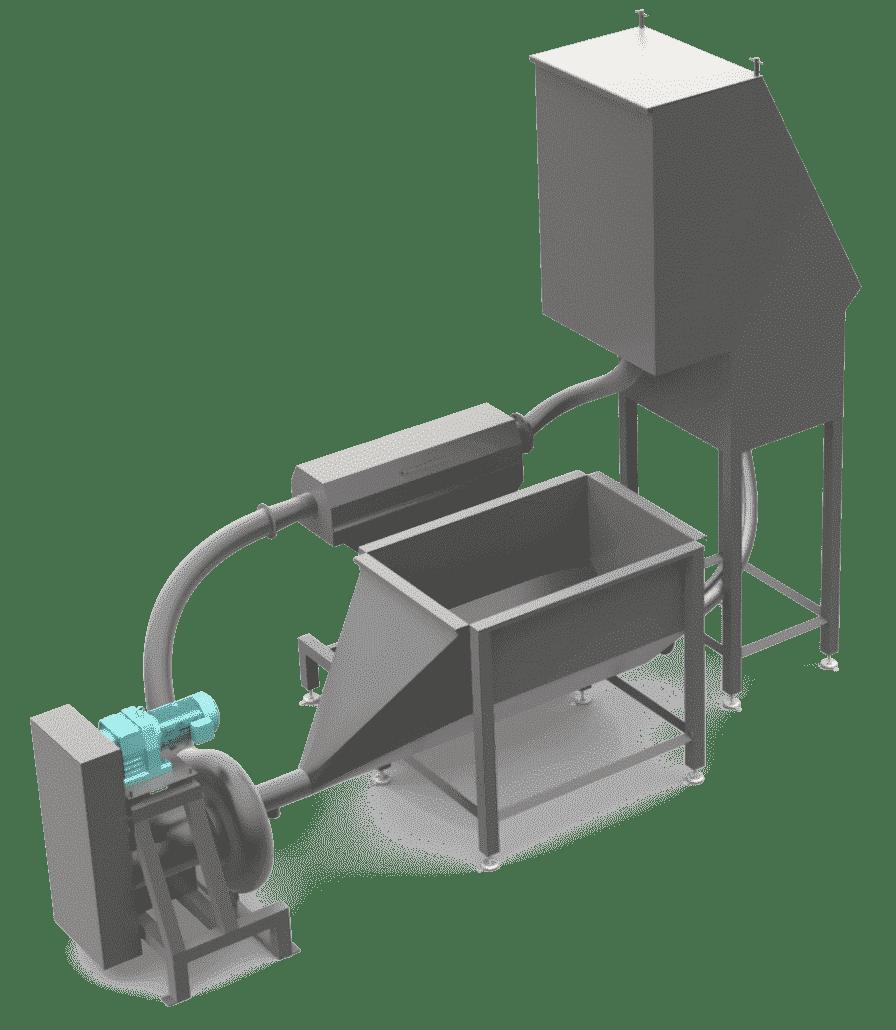Hydro Cutter SH, industrial potato cutter
