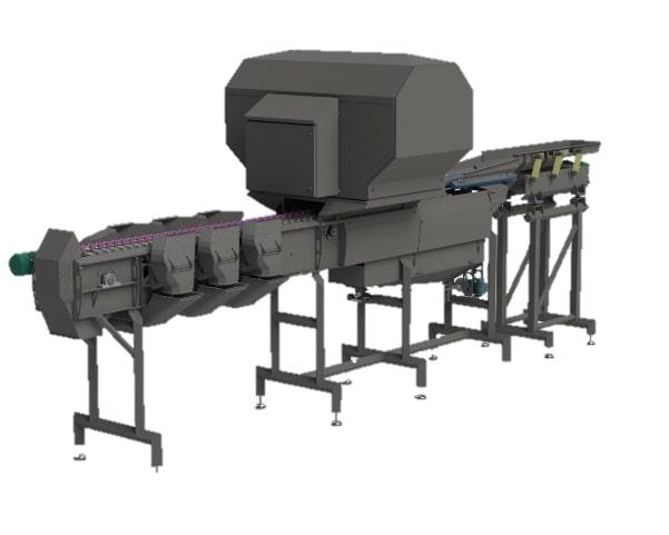 Optischer Sortierer SOM-2 Kartoffelsortierer