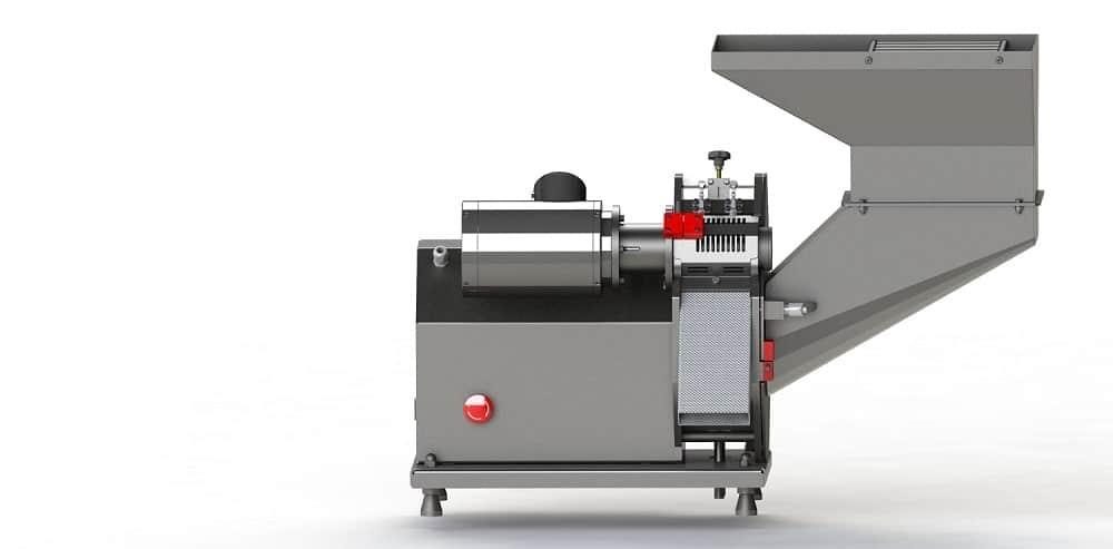 Slitmaster 85 Industrie Pommes Maschine