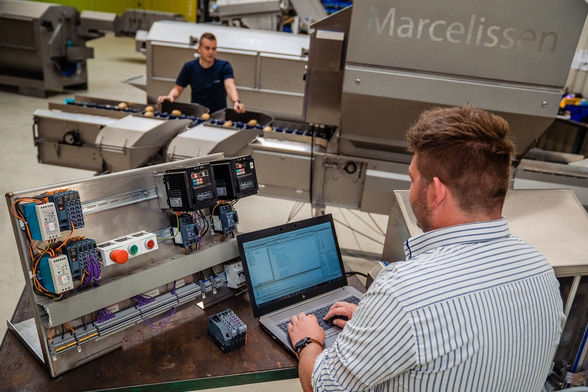 Daan und Ivo arbeiten bei Marcelissen